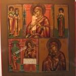 Vierges et Saints protecteurs, Russie centrale circa 1880 (réservée)