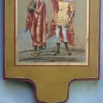 Icône de procession, Saint Jean et Saint Longin (vendue)