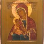 Icône russe de la Mère de Dieu, 19ème siècle