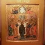 Icône russe de l'ascension, 19ème siècle vendue