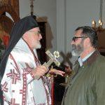 Saint Nicolas 2015 consécration comme iconographe par Mgr Jean de Charioupolis